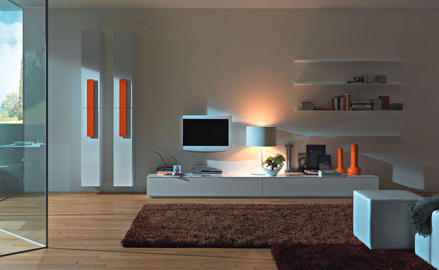 Foto di pareti attrezzate dal design moderno n.02