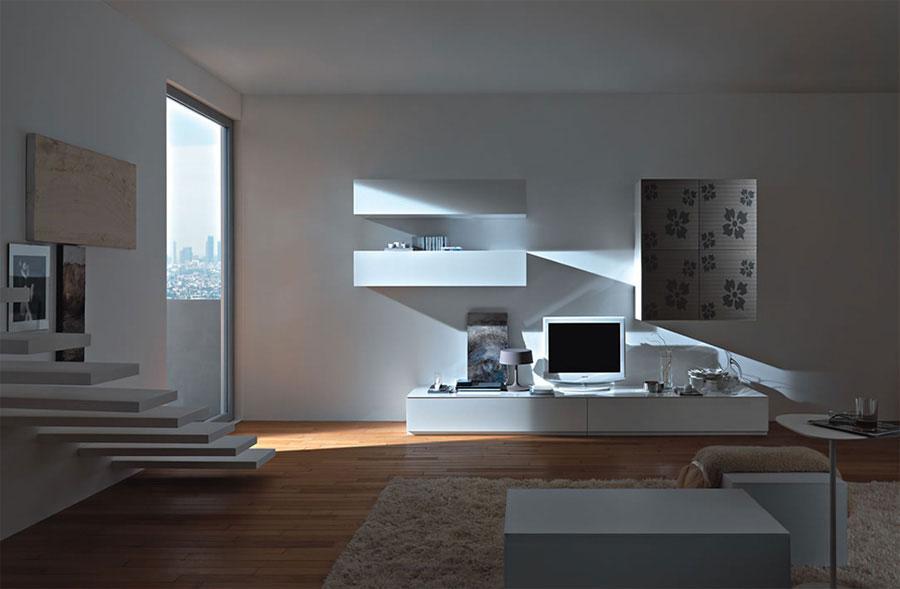 Super Pareti Attrezzate Moderne: 70 Idee di Design per Arredare Casa  UH44
