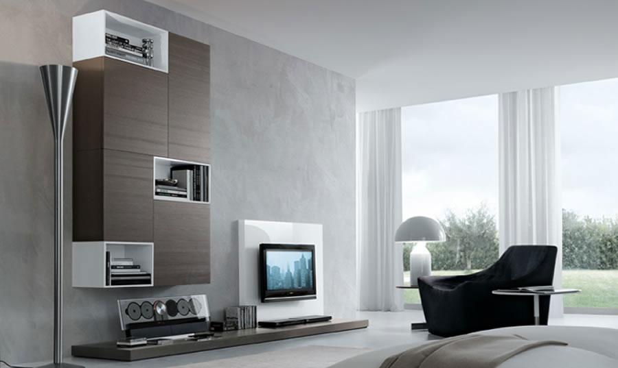 Foto di pareti attrezzate dal design moderno n.05