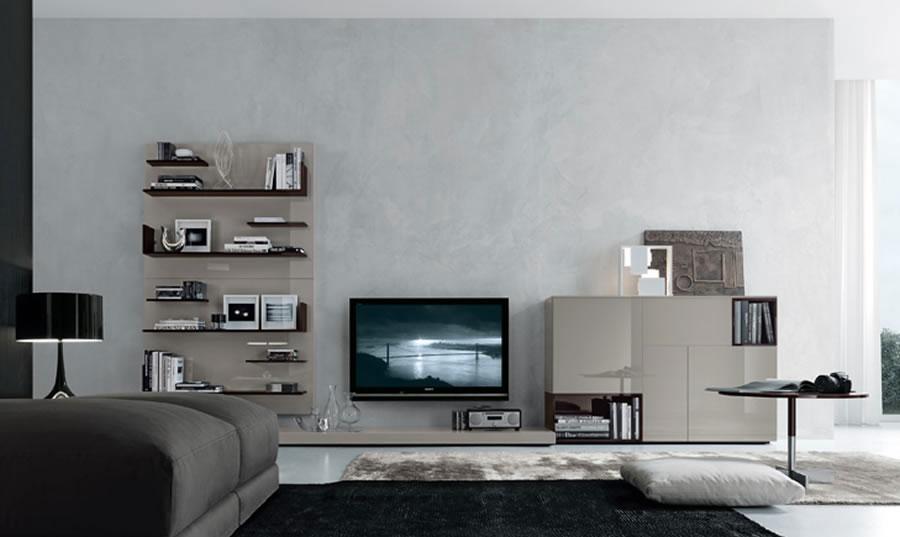 Foto di pareti attrezzate dal design moderno n.06
