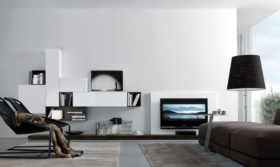 Foto di pareti attrezzate dal design moderno n.07
