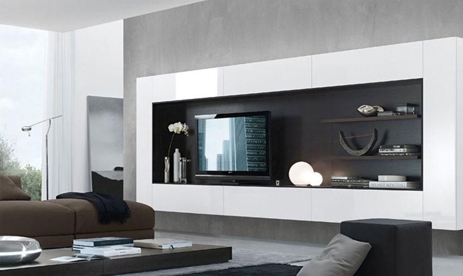 Foto di pareti attrezzate dal design moderno n.08