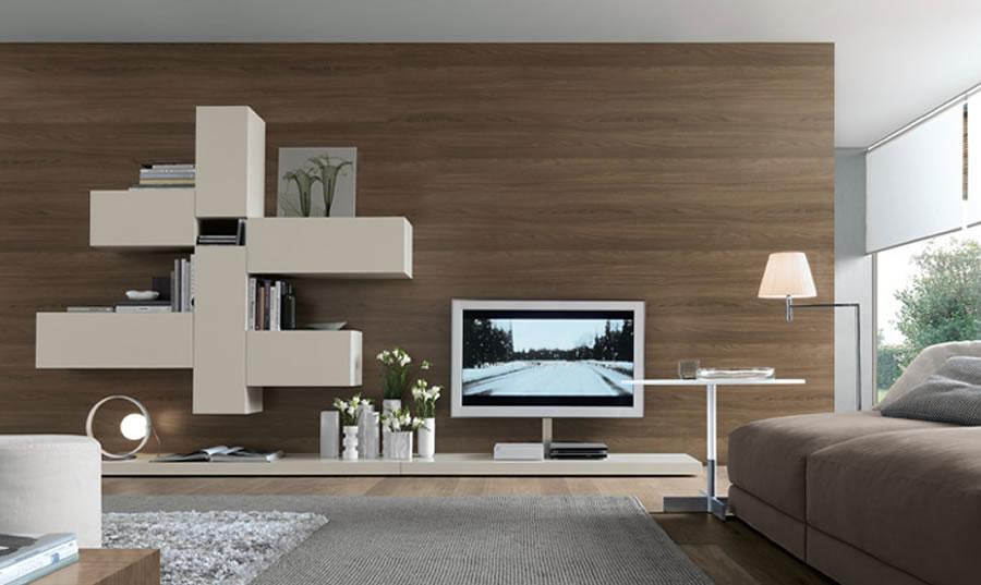 Foto di pareti attrezzate dal design moderno n.09