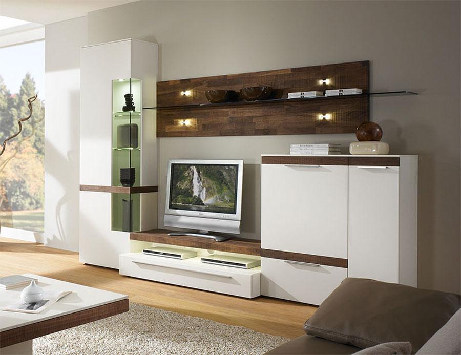 Foto di pareti attrezzate dal design moderno n.16