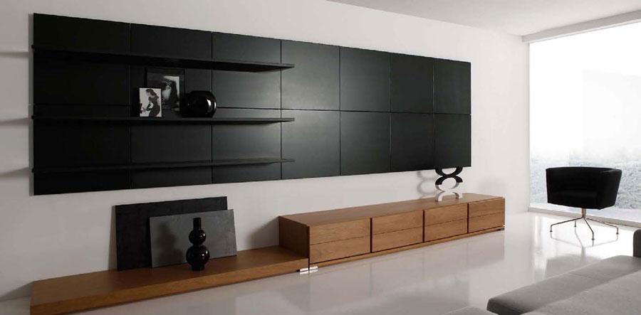 Foto di pareti attrezzate dal design moderno n.23
