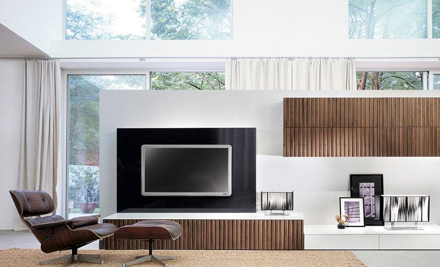 Foto di pareti attrezzate dal design moderno n.24