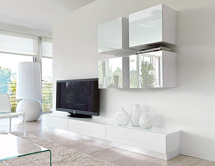 Foto di pareti attrezzate dal design moderno n.26