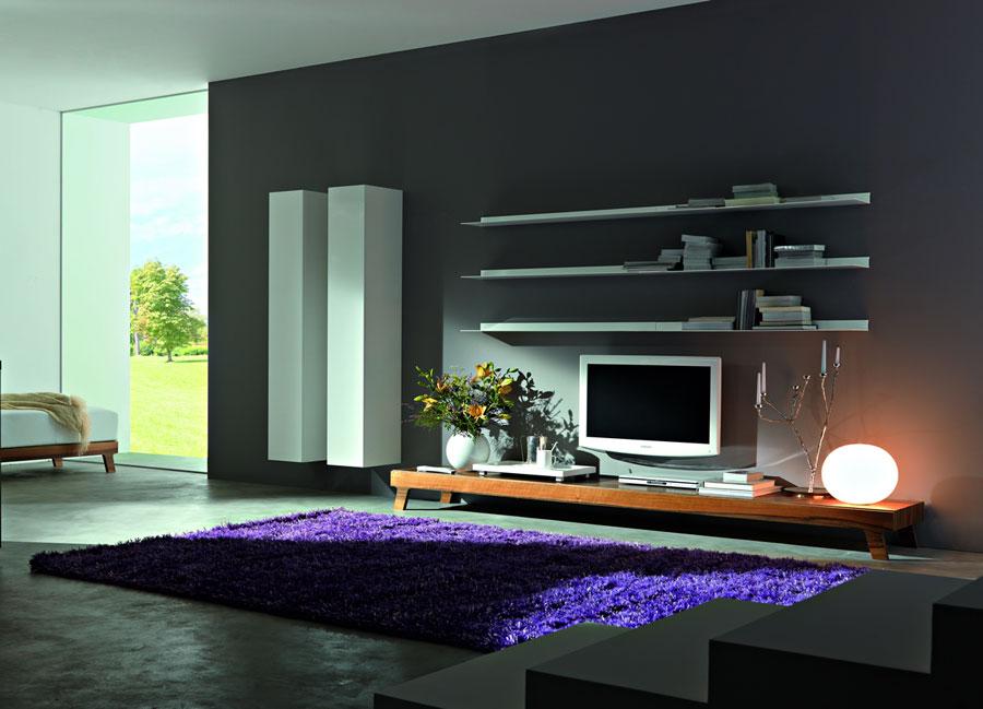 Foto di pareti attrezzate dal design moderno n.28