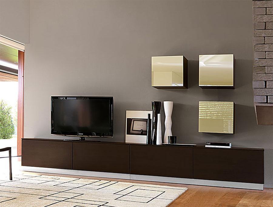 Foto di pareti attrezzate dal design moderno n.29