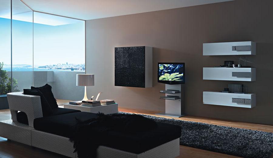 Foto di pareti attrezzate dal design moderno n.30