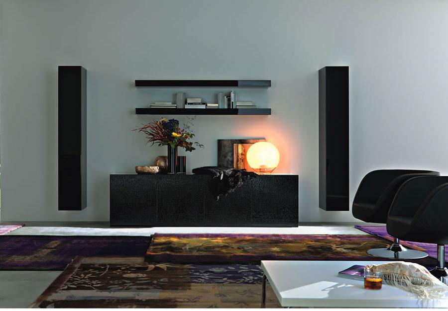 Foto di pareti attrezzate dal design moderno n.31