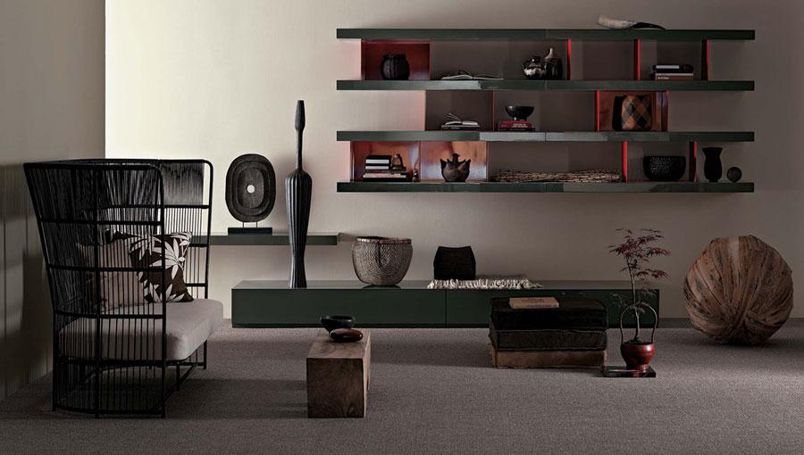 Foto di pareti attrezzate dal design moderno n.33