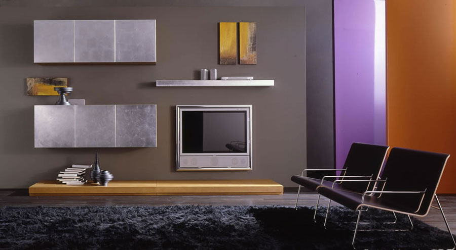 Pareti Attrezzate Moderne Di Design: Pareti attrezzate moderne idee di ...