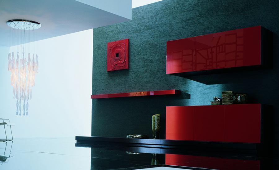 Foto di pareti attrezzate dal design moderno n.36