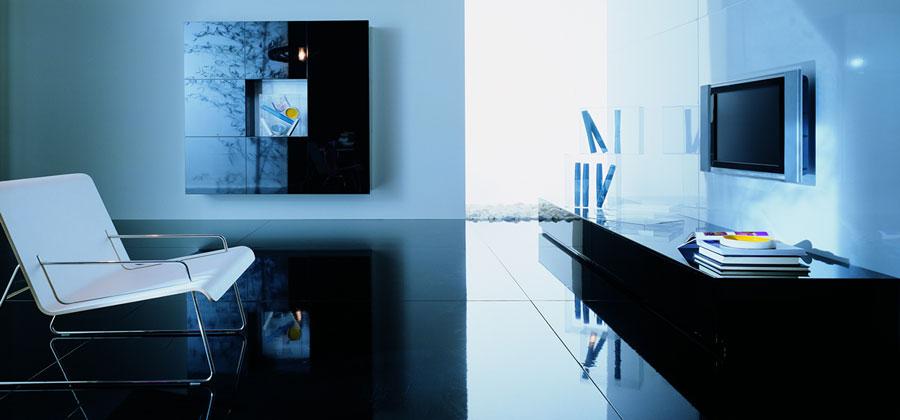 Foto di pareti attrezzate dal design moderno n.37