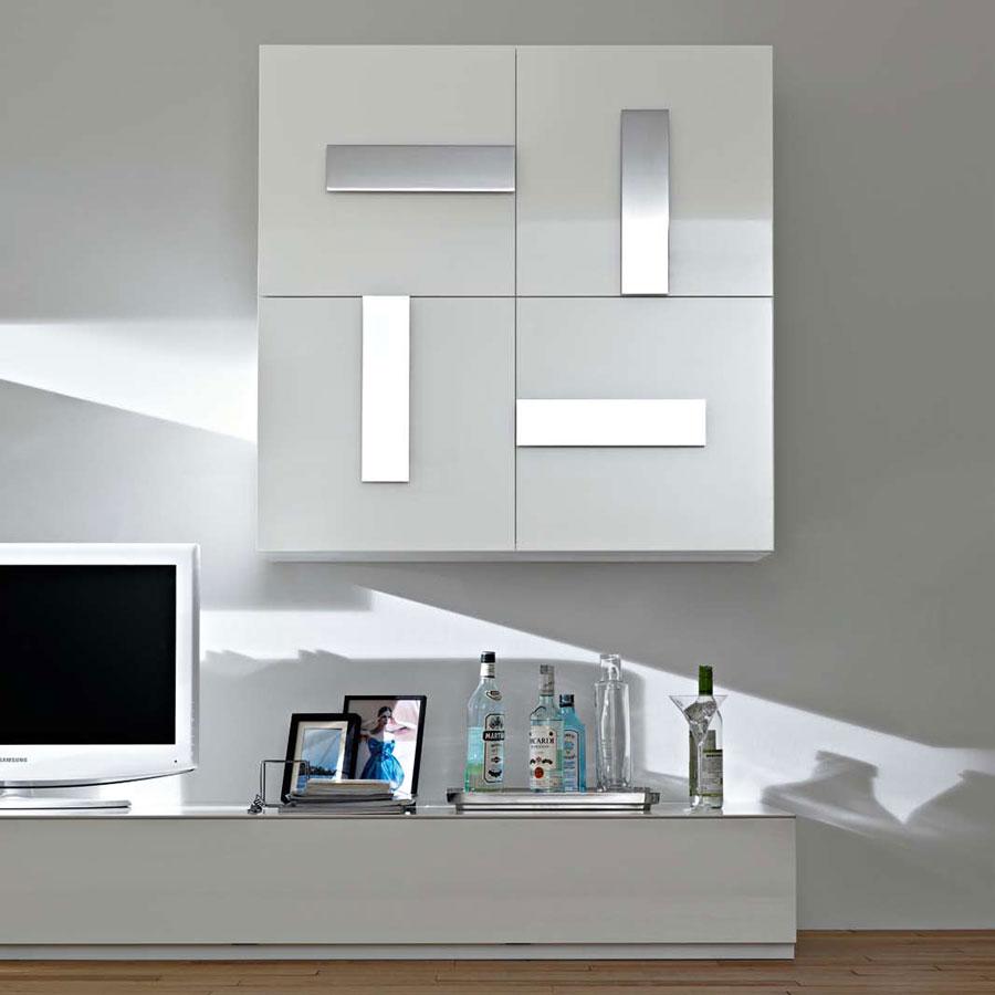 Foto di pareti attrezzate dal design moderno n.38
