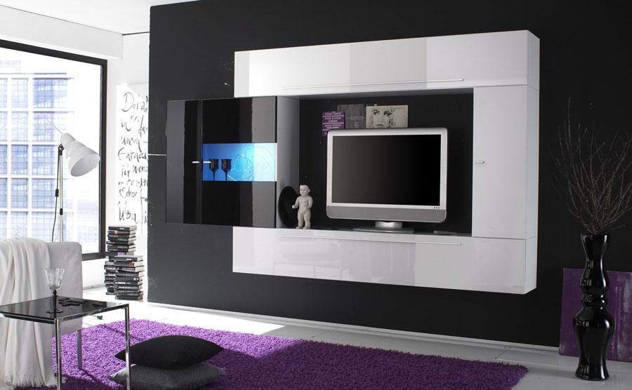 Foto di pareti attrezzate dal design moderno n.40