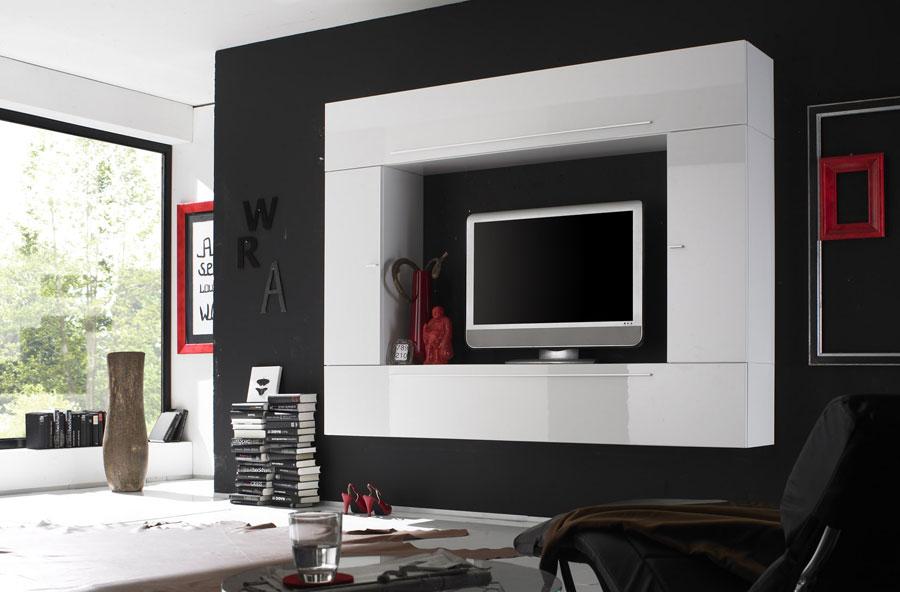 Foto di pareti attrezzate dal design moderno n.42