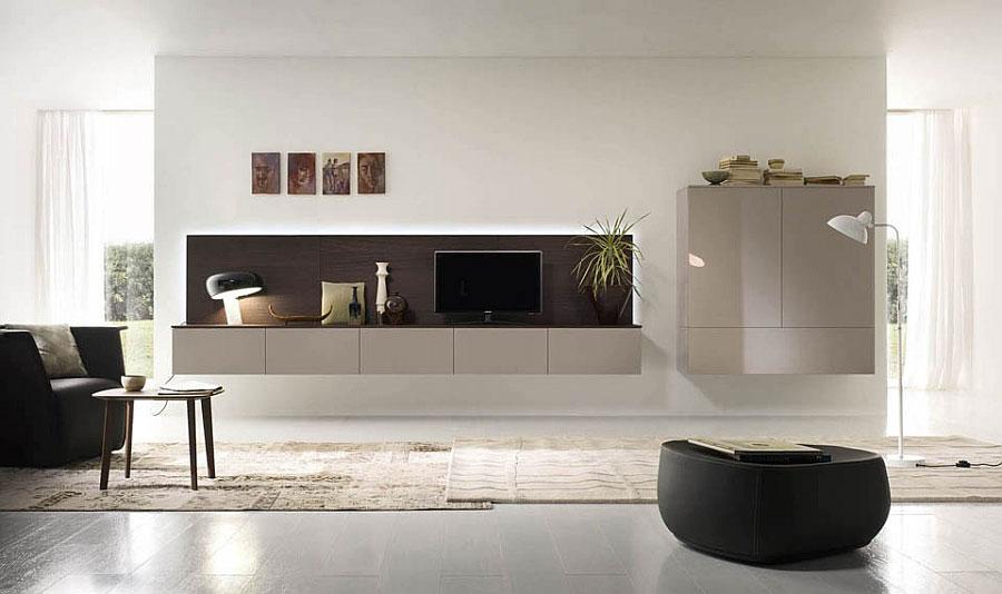 Foto di pareti attrezzate dal design moderno n.44