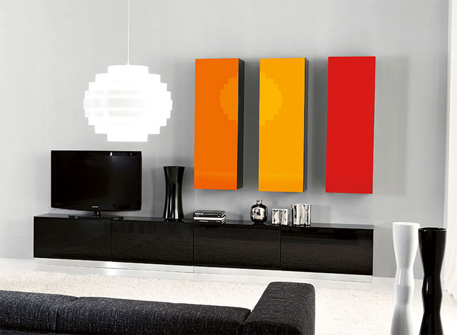 Foto di pareti attrezzate dal design moderno n.51