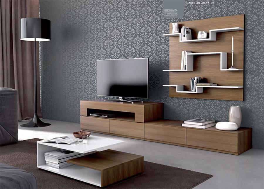 Foto di pareti attrezzate dal design moderno n.57