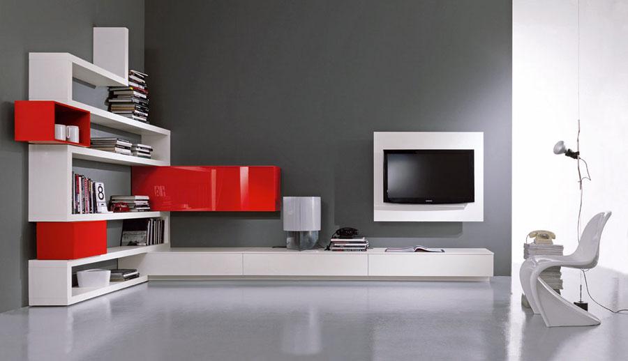 Pareti A Giorno Moderne.Pareti Attrezzate Moderne 70 Idee Di Design Per Arredare Casa