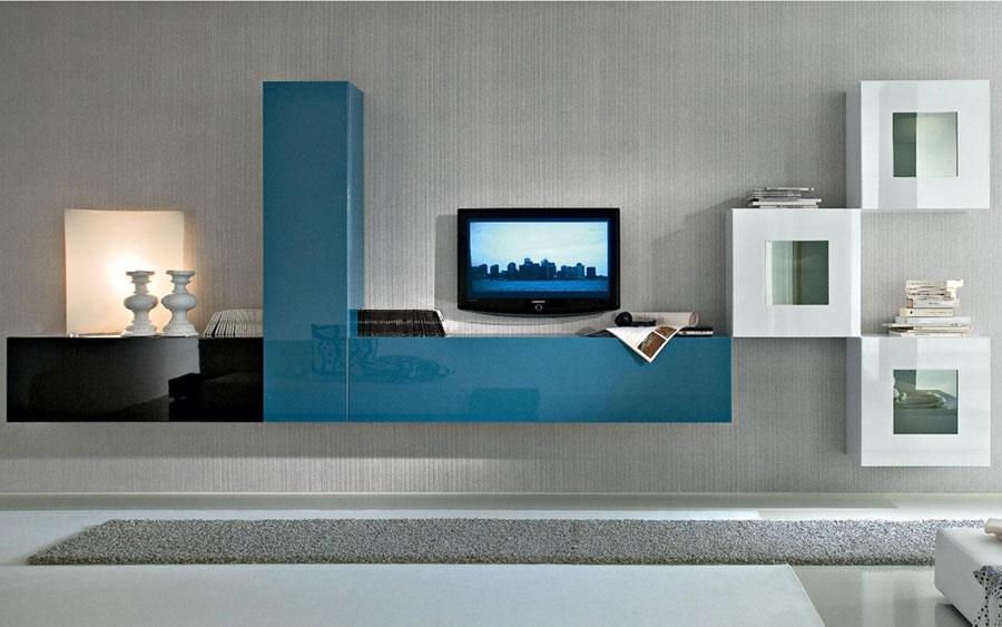 Foto di pareti attrezzate dal design moderno n.61