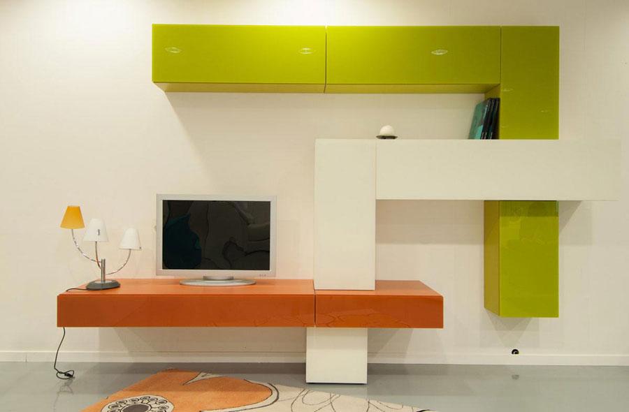Foto di pareti attrezzate dal design moderno n.63