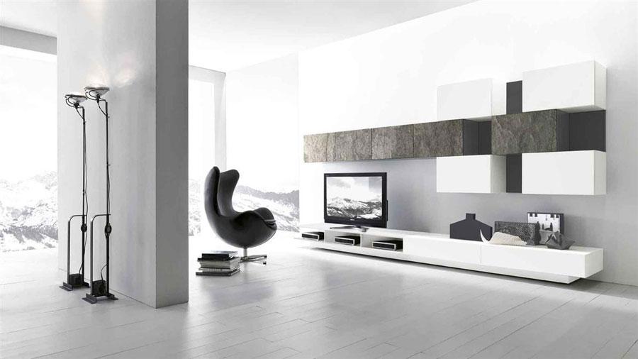 Foto di pareti attrezzate dal design moderno n.65