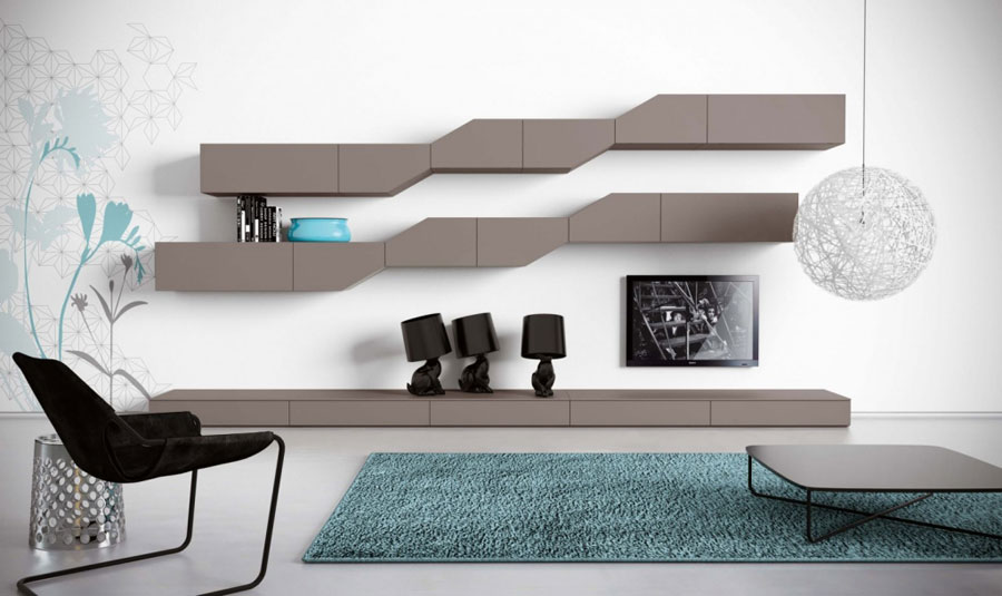 Pareti Attrezzate Moderne: 70 Idee di Design per Arredare Casa
