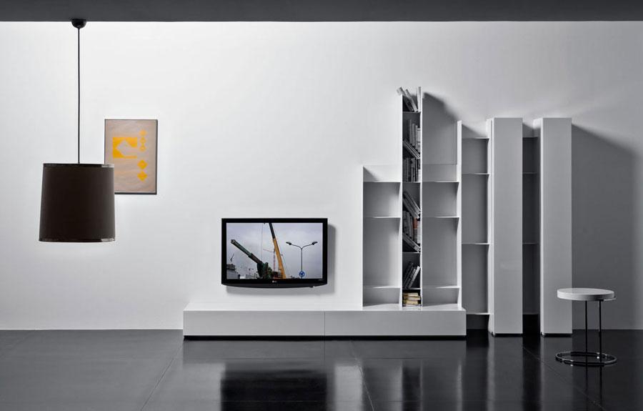 Foto di pareti attrezzate dal design moderno n.69