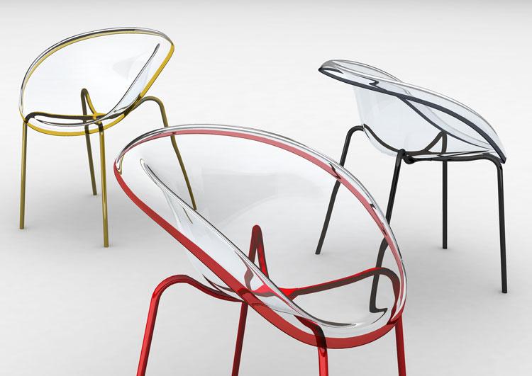 30 Esempi di Sedie Trasparenti dal Design Moderno