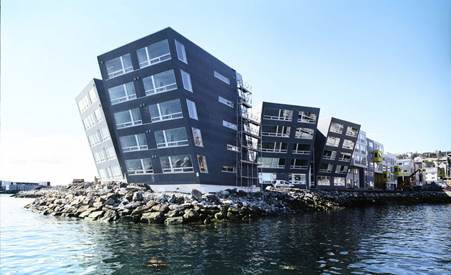 Foto della struttura moderna Strandkanten
