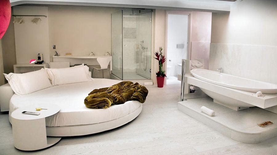 Foto della suite dell'hotel Suite Sistina a Roma