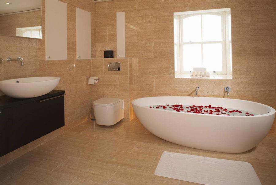 Bagno della suite dell'hotel The Hempel a Londra