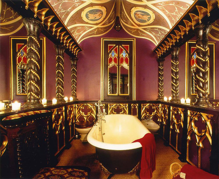 Bagno della suite dell'hotel The Witchery by The Castle a Edimburgo