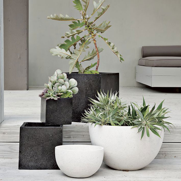 40 vasi da giardino e da esterno moderni ed originali - Plant decorating ideas tasteful nature ...