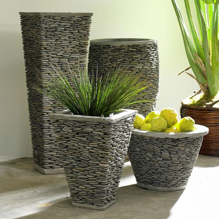 Vasi Da Giardino Grandi.40 Vasi Da Giardino E Da Esterno Moderni Ed Originali