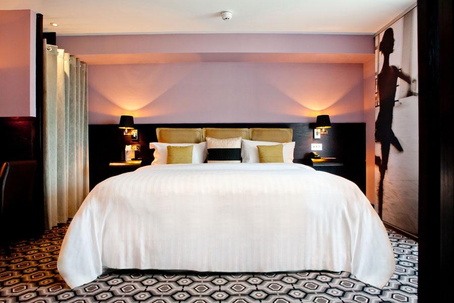 Camera del Vincent Hotel a Liverpool