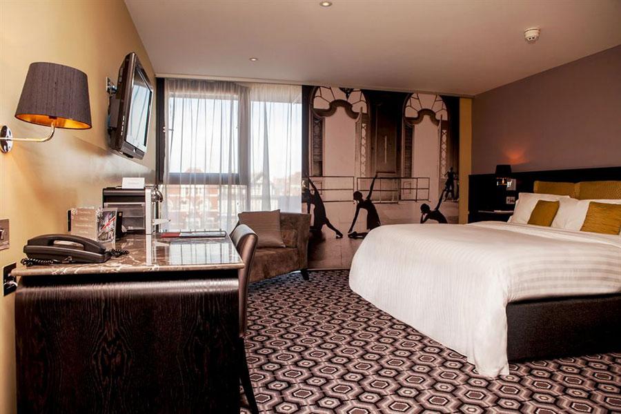 Suite del Vincent Hotel a Liverpool