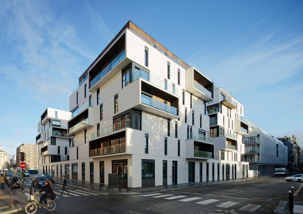 Foto della costruzione moderna Zac Boucicaut
