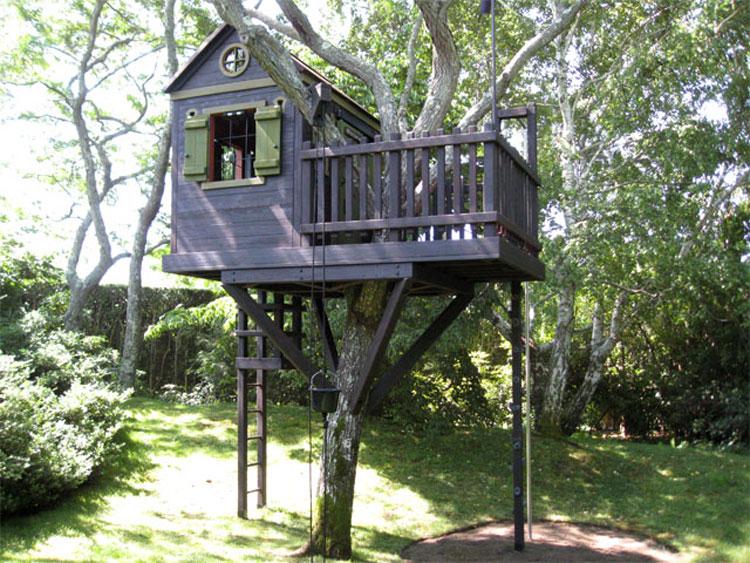 Casa sull'albero per bambini n.04