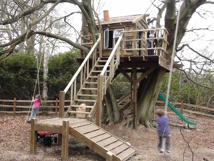 Casa sull'albero per bambini n.11