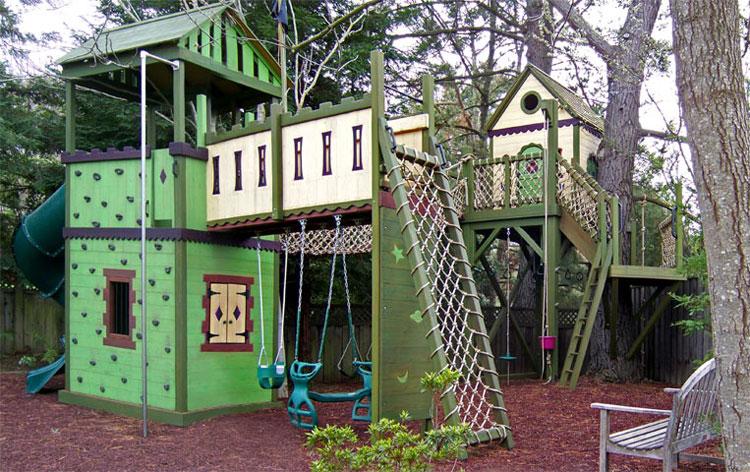 Casa sull'albero per bambini n.12