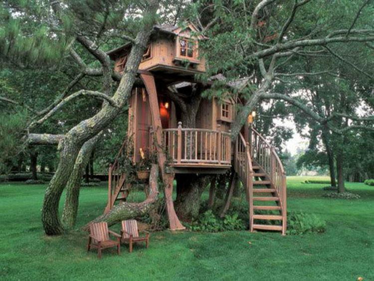 Casa sull'albero per bambini n.15