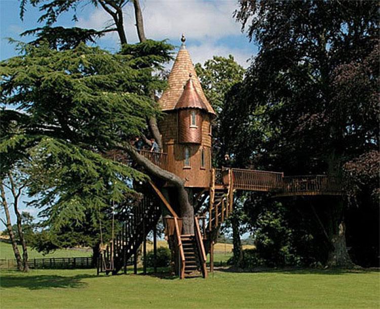 Casa sull'albero per bambini n.18