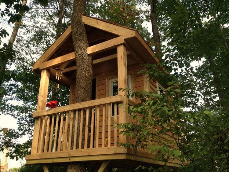 Casa sull'albero per bambini n.19