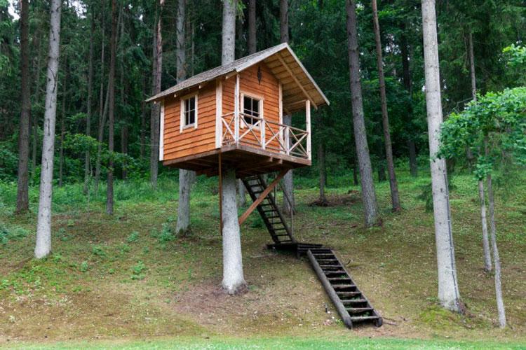 Casa sull'albero per bambini n.27