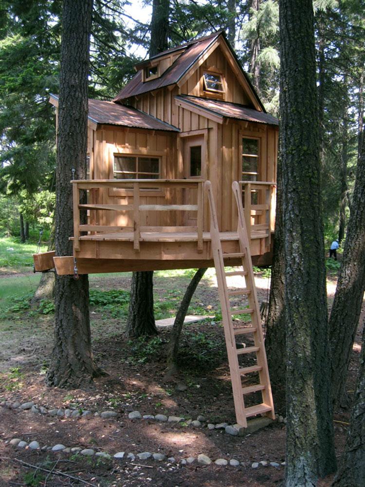 Casa sull'albero per bambini n.28