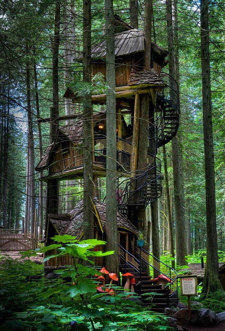 Casa sull'albero per bambini n.29